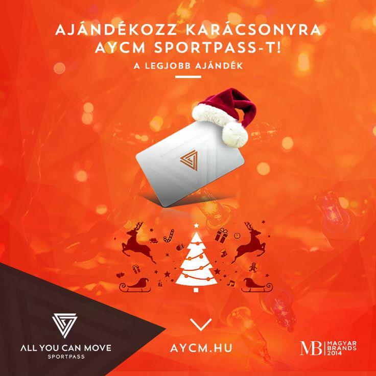 Lepd meg magad Karácsonyra AYCM SportPass-szal!