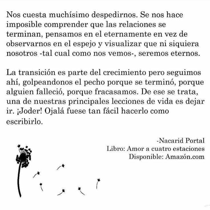 """805 Me gusta, 22 comentarios - Nacarid Portal Arráez (@nacaridportal) en Instagram: """"¿No les ha pasado, querer dejar ir algo o alguien y no poder? ¿No les ha pasado saber que tienen…"""""""
