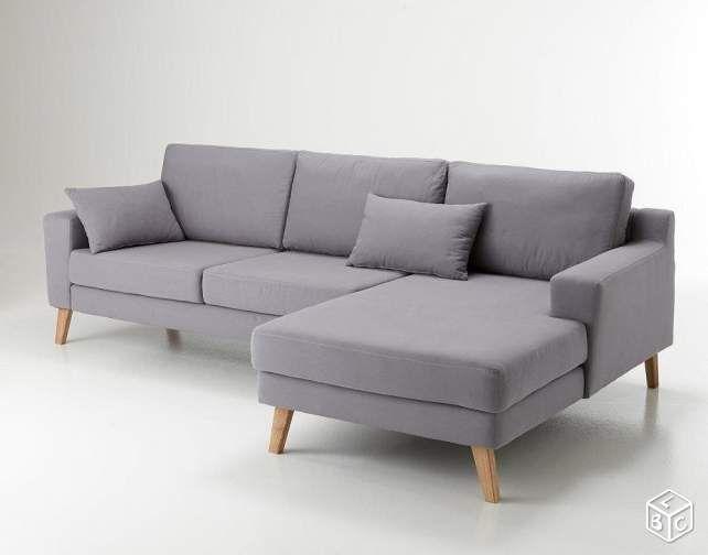 Canapé d'angle droit ou gauche neuf en déstockage