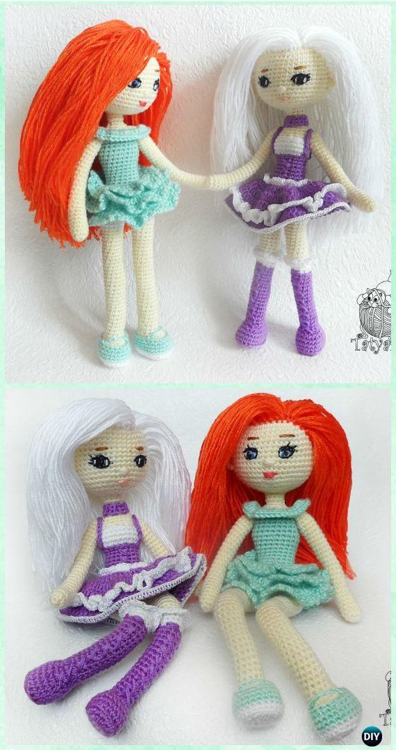 Crochet Amigurumi Doll Adele Free Pattern - #Crochet; Doll Toys Free Patterns