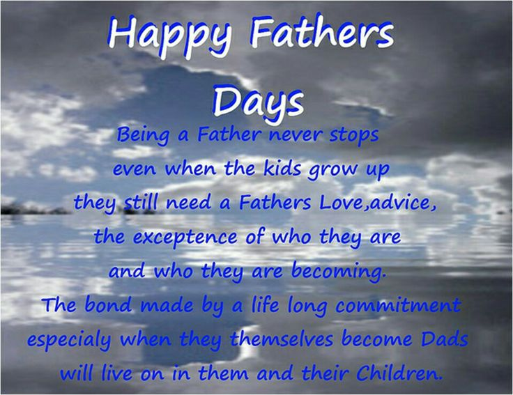 happy father's day message clipart