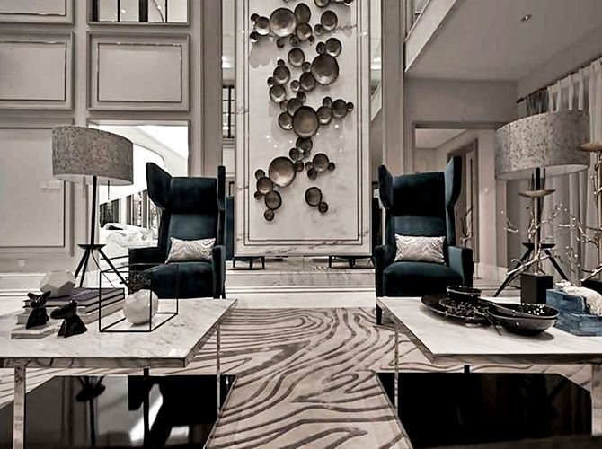 The oriental, soft, and delicate style is strongly allied to neoclassicism (W. DESIGN - Hong Kong)
