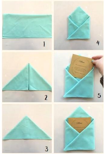 2044 best Porta guardanapos images on Pinterest How to fold