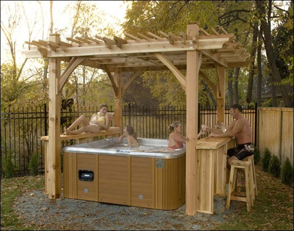 160 Best Images About Jacuzzi Outdoor Ideas On Pinterest