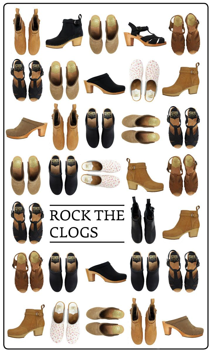 Why do I love clogs so much? They arent the most attractive shoe around. Sometimes they are a pain to walk in. But I still love them. Can't explain it.