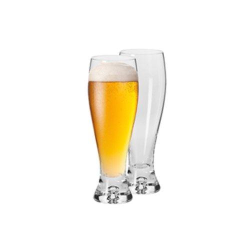 Krosno Jensen Pilsner Glass 420ml Set of 2