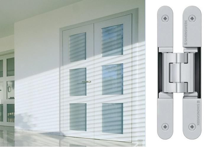 Concealed Hinges For Flush Doors. (Tectus 3D Concealed Hinge)