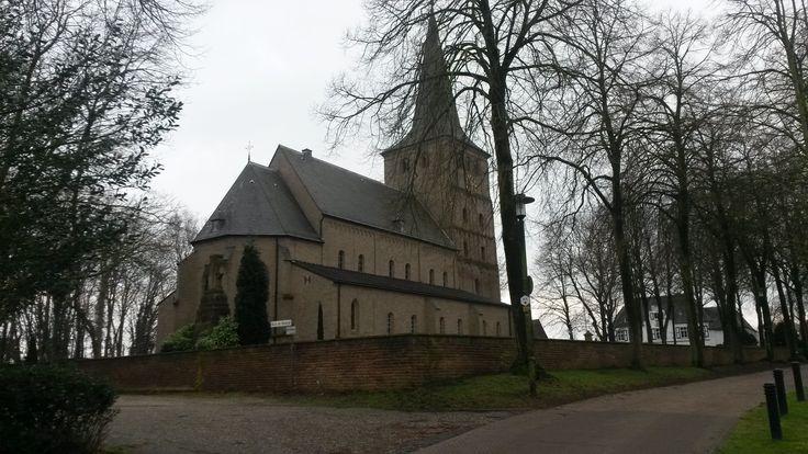 Die Kirche St. Vitus, Emmerich - Hoch Elten, im Feburar 2015