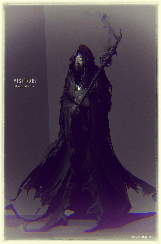 Visionary by Marat-Ars Fantasy Art