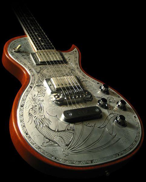 Dragon Design Guitar
