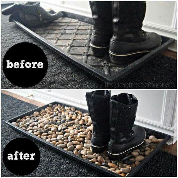 Muddy boot mat