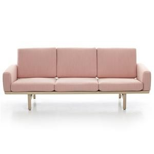 Hans Wegner 236 Sofa - A wonderful sofa designed by Hans Wegner for Getama.  As with all of Wegner's designs, it looks beautiful from all angles. The rear is of special note.