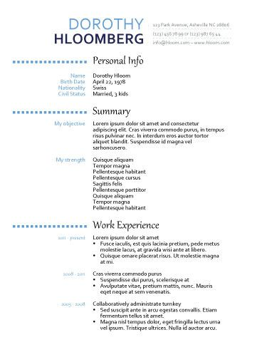 461 best Resume Templates and Samples images on Pinterest - docs resume template