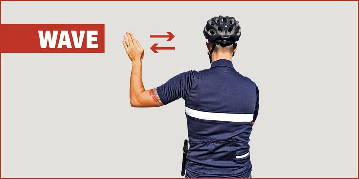 Learn these 10 basic cycling hand signals to keep you — and those around you — safe out on the road. The hand signal you use for stopping will most likely depend on the situation. If you're only riding with one or two other cyclists, a closed fist behind the back is probably sufficient. On a …