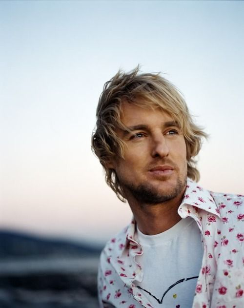 Owen Wilson. Even though he's probably twice my age, he's always the sexiest thing ever. =P