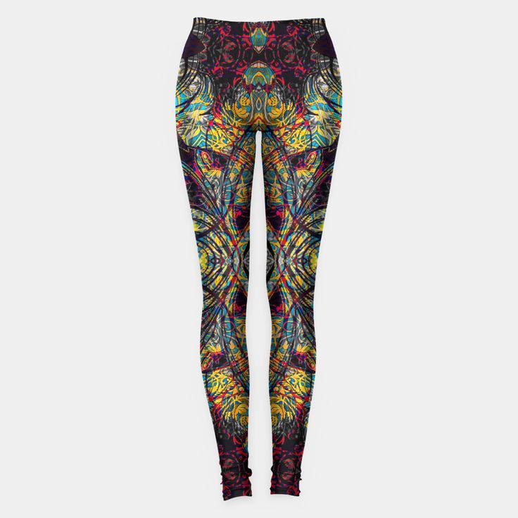 Magic Leggings by JBJart 109.95zł #leggings #abstract