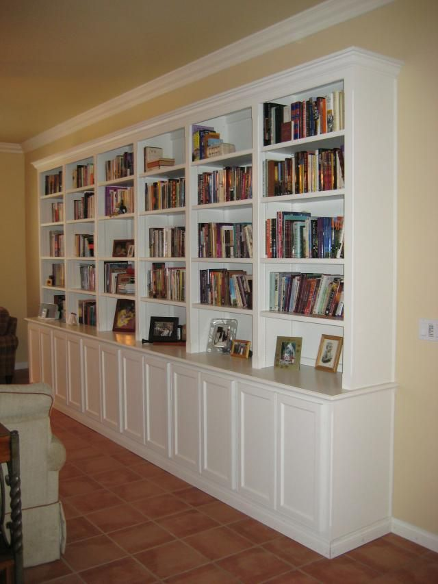 Inspiration For The Library Wall But Ours Would Need To Go Ceiling And Have A Ladder Family Room Pinterest