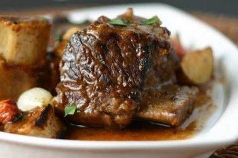 Braised Short Ribs (crock pot): direct link http://www.food.com/recipe/braised-short-ribs-crock-pot-118031