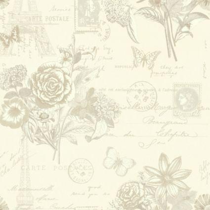 Unlimited Florien Cream Wallpaper: Image 1