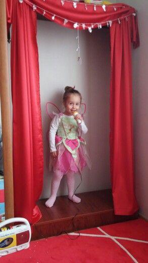 Kızım Bahar ın sahnesi #sahne #çocukodası#singasong