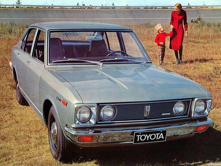 Todas las fotos del Toyota Carina TA12 1971. La galería de fotos más completa del Toyota Carina TA12 1971
