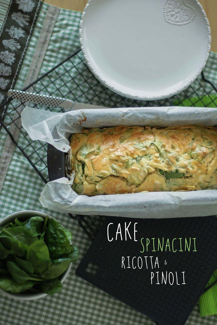 asinochileggeancora: Cake spinaci e ricotta