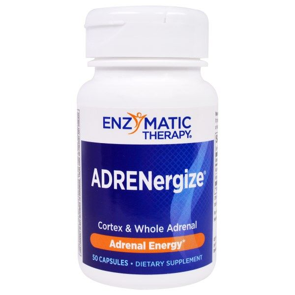 Enzymatic Therapy, ADRENergize, Adrenal Energy, 50 Capsules  #stress #formula #support #balance #management #iherb #thingstobuy #shopping #relief