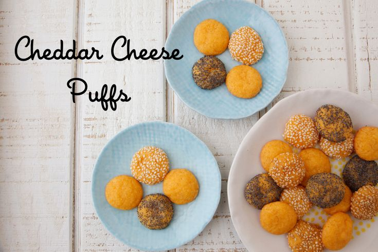 Cheddar cheese puffs are easy to make and are perfect for a quick ...