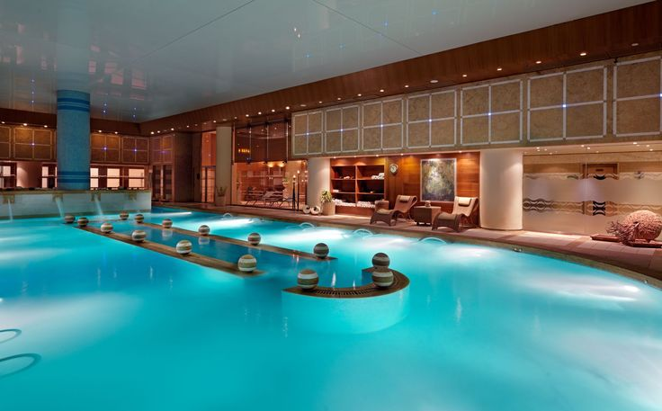 The Thalassotherapy pool at Divani Apollon Palace & SPA