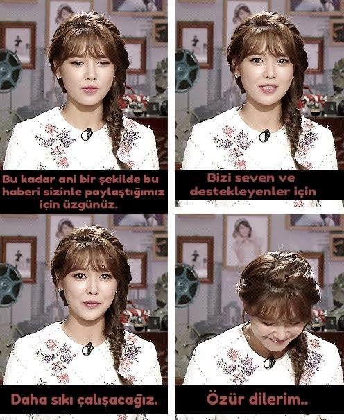 Sooyoung bugünkü Hanbam programında Jessica olayıyla ilgili konuştu. Haberin yayınlanması üzerine Sooyoung bu konuşmayı yaptı. Fanlar bunun üzerine Sooyoung'un instagram hesabına 'sizi daima seveceğiz, sooyoung unnie üzülme, özür dilemek zorunda değilsin, lütfen iyi ol' gibi yorumlar yapıyor.  Program videosu: http://www.youtube.com/watch?v=1TuPzTUbEME