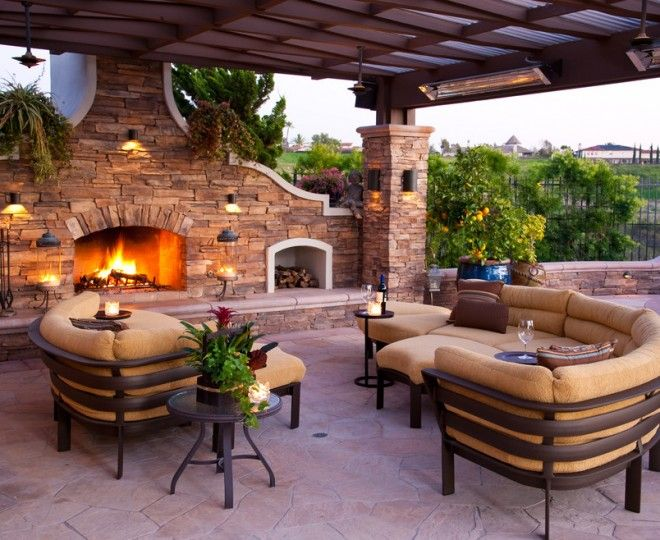 Impressive Sears Outdoor Furniture  technique Los Angeles Mediterranean Patio Inspiration with  contemporary outdoor sectional covered patio Eclectic fireplace accessories fireplace hearth firewood storage flagstone mediterranian