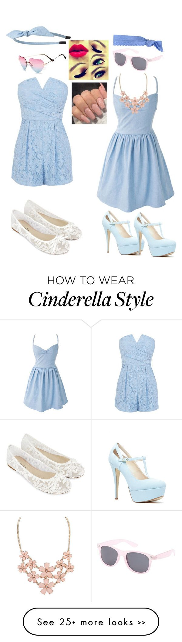 """""""Modern Day Cinderella"""" by hswalker on Polyvore featuring Coast, Cara, Accessorize, Glam Bands, Charlotte Russe and modern"""