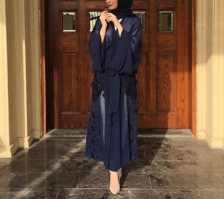 IG: Jawaherrbrr || IG: BeautiifulinBlack || Abaya Fashion ||
