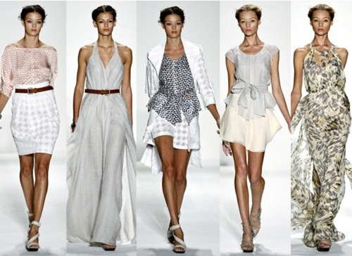 oh my i can see any of those Luca Luca ss 2011 designs in a costal town of france/ Italy /spain flowing with wind #LucaLuca #fashion