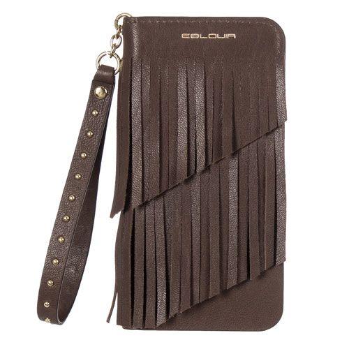 :: EBLOUIR :: Fringe Folio(Choco) #eblouir,#iphonecase, #phonecase, #iphone, #iphone6, #iphone6s, #plus, #style, #accessories, #best, #protective, #design, #mobile, #life