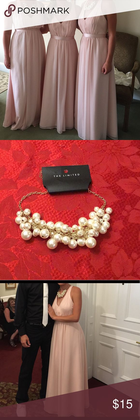 Pearl necklace Beautiful chunky pearl necklace The Limited Jewelry Necklaces