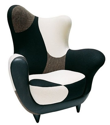 Design chair - Los Muebles Amorosos - by Javier Mariscal - read more: http://myartistic.blogspot.com/2008/09/020908-poltrona-losmuebles-designer.html
