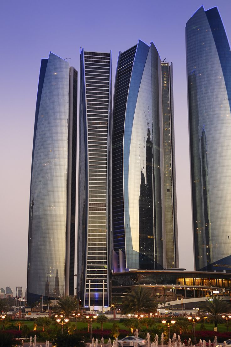 The 66 best images about skyscrapers on pinterest for Architectural design companies in abu dhabi