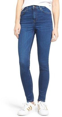 Shop Now - >  https://api.shopstyle.com/action/apiVisitRetailer?id=514215862&pid=uid6996-25233114-59 Women's Topshop Jamie High Waist Ankle Skinny Jeans  ...