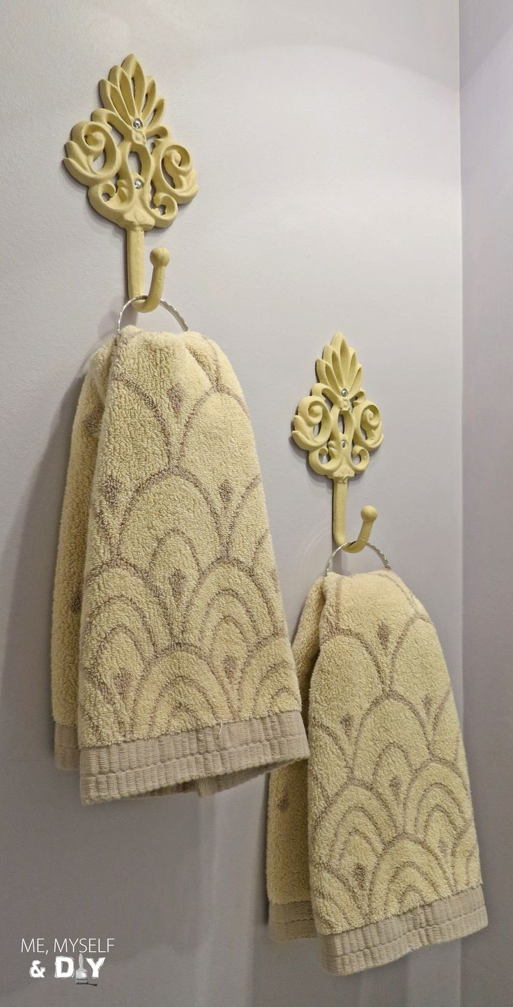 7 best images about ways to hang towels on pinterest powder doorknob hangers and bathroom