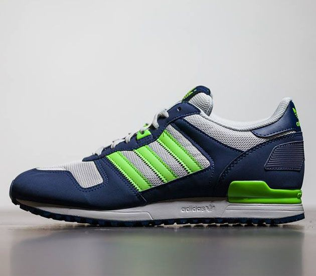 Adidas Zx 700 Retro Trainers Army Shoes Green Mens White New Appearance