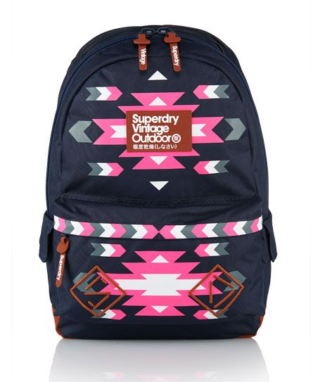 Mens - Navajo Montana Rucksack in Navy | Superdry