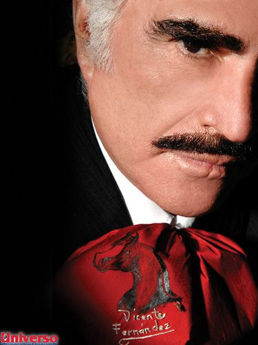 Vicente Fernandez the real Charro de Mexico!! finally gonna see you in November last concert so honored!!!!