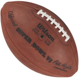 Old Ghost Collectibles - Wilson Super Bowl 6 VI Dallas Cowboys vs Miami Dolphins Official NFL Game Football, $109.99 (http://www.oldghostcollectibles.com/wilson-super-bowl-6-vi-dallas-cowboys-vs-miami-dolphins-official-nfl-game-football/?page_context=category