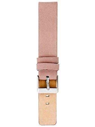 Oozoo-Armband-Ersatzarmband-fr-Oozoo-Uhren-etc-18-mm-Farbe-Pinkgrau