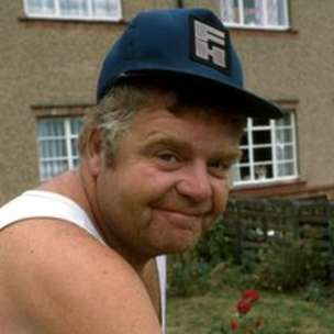 Geoffrey Hughes as Onslow in Keeping Up Appearances