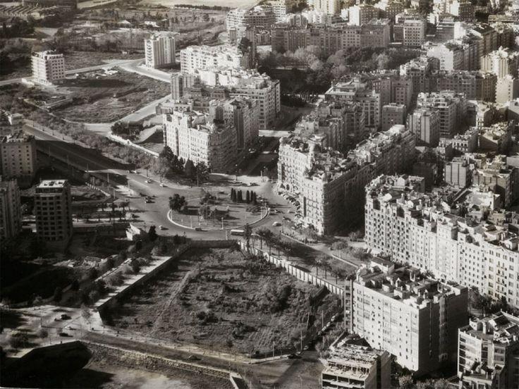 Plaça Francesc Macià, 1960 Barcelona