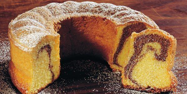 Südtiroler Marmorkuchen