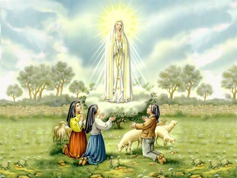 Santos Milagrosos: Virgen de Fatima