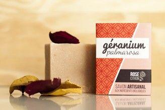 GÉRANIUM - Savon biologique / organic soap
